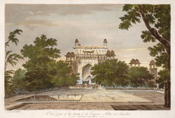 A View of Part of the Tomb of the Emperor Akbar at Secundrii(019XZZ000000307U00039000)